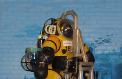 Diving suit at the museum