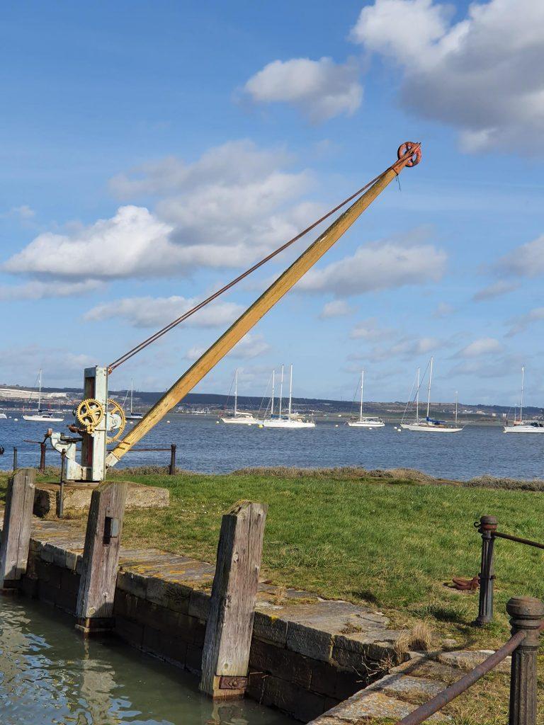 Camber crane at Priddys Hard
