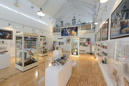 Star wars exhibition at Gosport Gallery