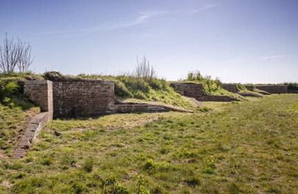 Bastion No.1, Trinity Green