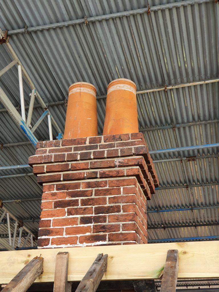 Police Barracks chimney