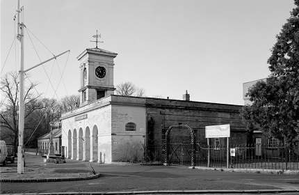 Exterior view from St Georges Barracks