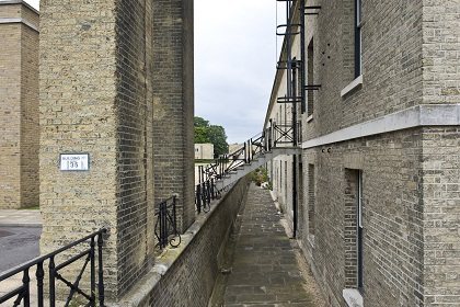 Exterior, St Georges Barracks North. South block.