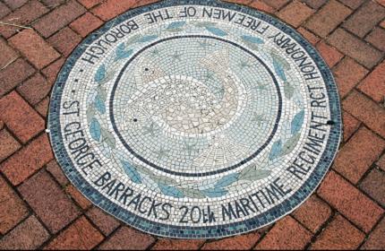 St George Barracks Mosaic