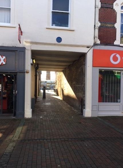 Alleyway off Gosport High Street
