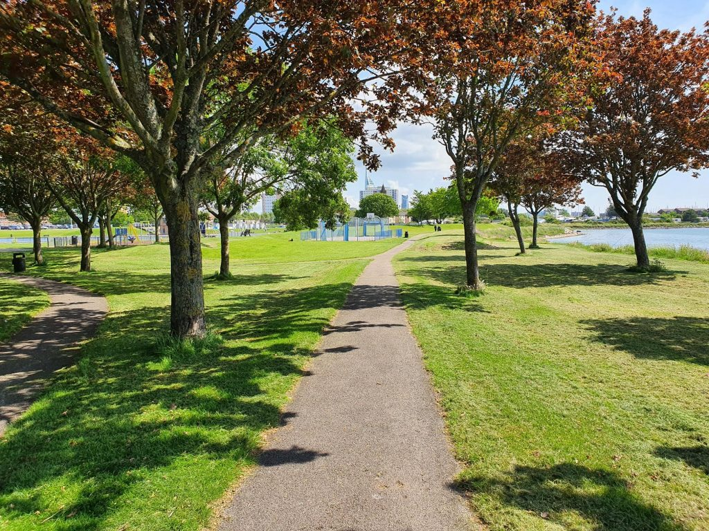 Walpole Park in Autumn
